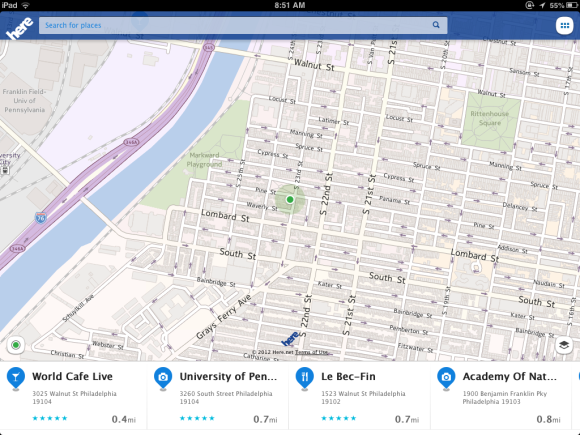 Hands on with Nokia's Here Maps for iOS