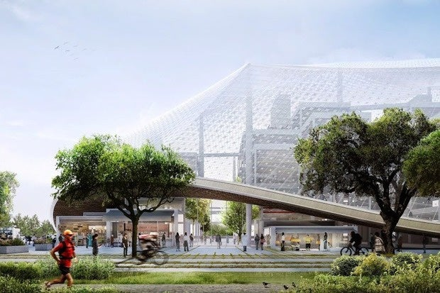 Google's future campus looks