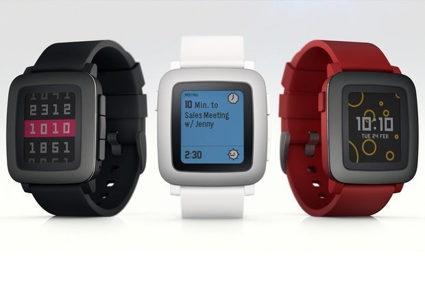 Pebble Time smartwatch to