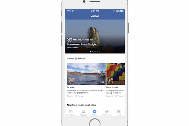Facebook's new video features for iOS edge into YouTube's territory
