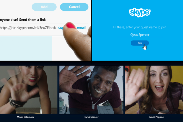 Skype for all: Microsoft lets users send direct links to chat with anyone via Skype