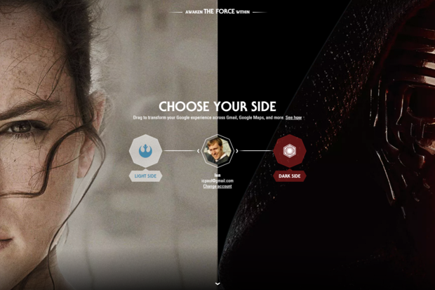 Google embraces the dark side with Star Wars themes for YouTube, Chrome, Maps, Android Wear, and more