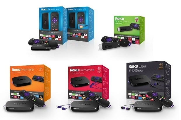 Roku reboots its entire lineup with five all-new Express, Premiere, and Ultra models