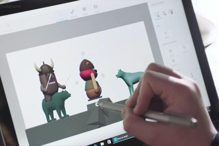 Windows 10's new Paint 3D app