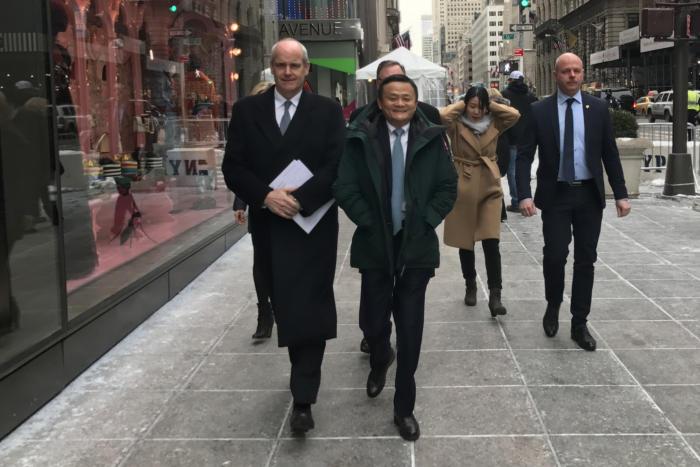 Alibaba could generate 1 million new U.S. jobs, Ma tells Trump