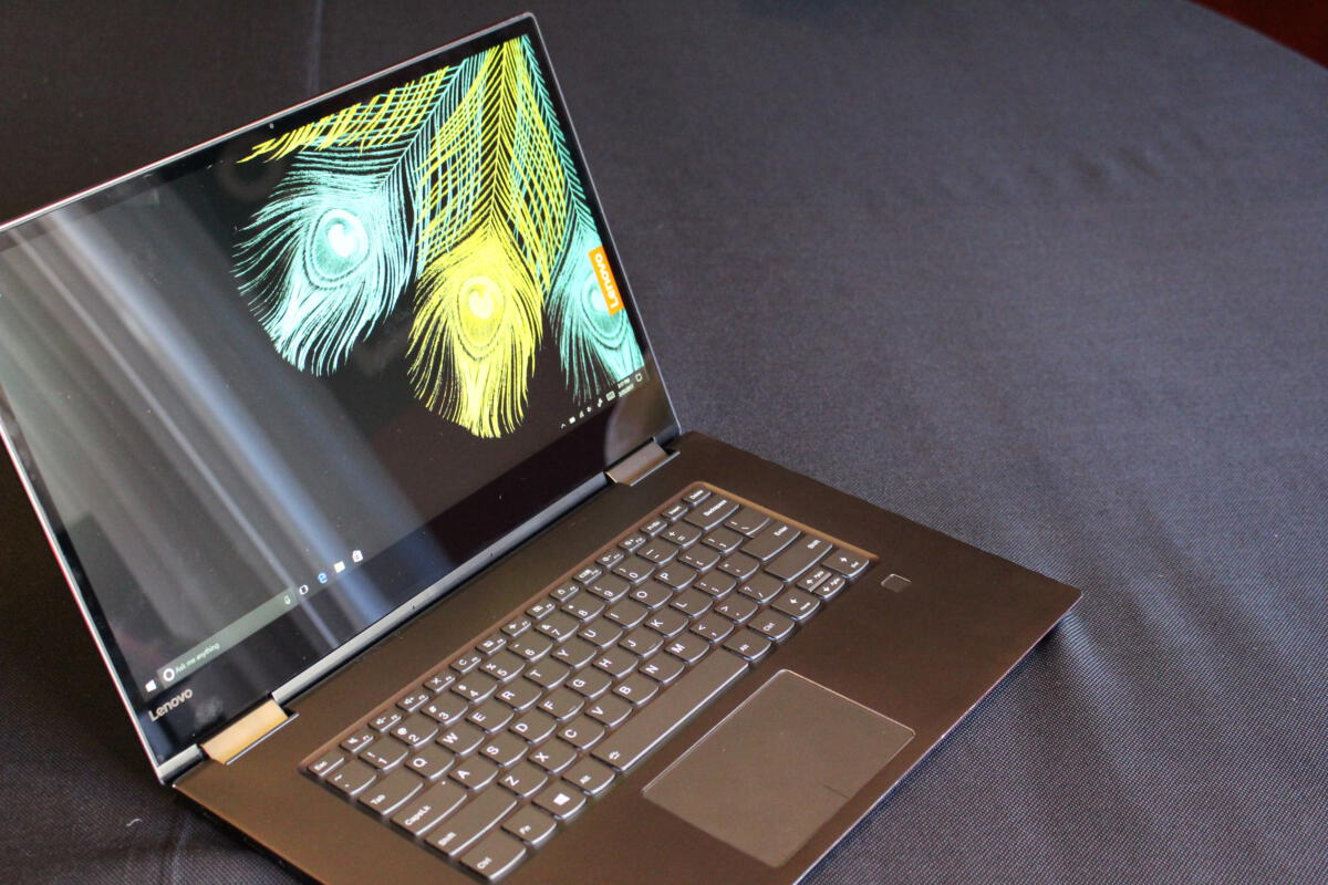 Lenovo's Yoga 720 brings a bit of game with discrete GTX 1050 graphics